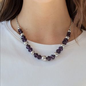Jewel Jam Purple necklace